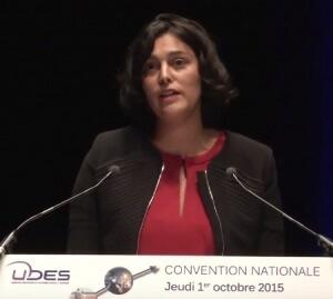 15-10-01 Myriam El Khomri Convention nat UDES