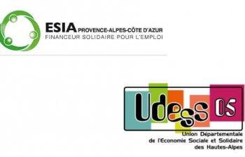 L'Udess 05 et Esia Paca partenaires pour le développement de l'ESS