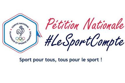 Pétition Le Sport Compte