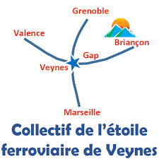 Logo Etoile Ferroviaire de Veynes