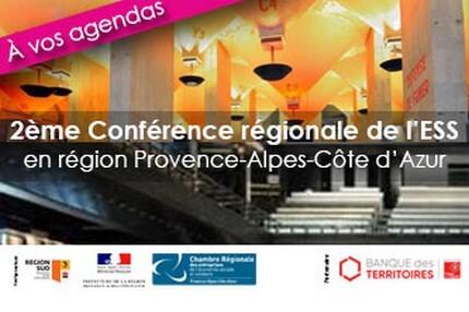 2e Conférence régionale de l'ESS Paca