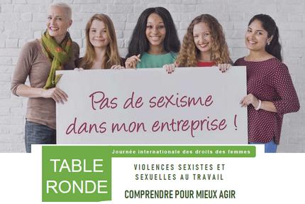 Table ronde à Gap contre le sexisme dans l'entreprise