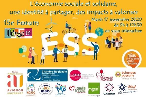 Affiche du 15e forum ESS 05